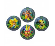 Подставки под напитки Crash Bandicoot 3D Coasters (PREORDER ZS) из игры Crash Bandicoot (Крэш Бандикут)