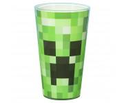 Бокал стеклянный Minecraft Creeper Glass 450 мл из игры Minecraft