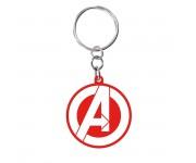 Брелок ABYstyle: MARVEL: Keychain PVC Avengers logo (PREORDER SALE SEPT) из фильма Avengers: Endgame (Мстители: Финал)
