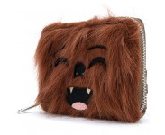 Chewbacca Faux Fur Zip Around Wallet из фильма Star Wars