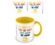 Кружка Friends (We Know) Yellow Coloured Inner Mug (PREORDER SALE SEPT) из сериала Friends (Друзья)