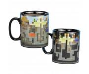 Кружка Minecraft XL Heat Change Mug 550 мл (PREORDER ZS) из игры Minecraft