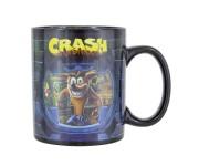 Кружка Crash Bandicoot Heat Change Mug (PREORDER ZS) из игры Crash Bandicoot (Крэш Бандикут)