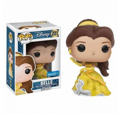 Белль танцующая блестящая (Belle Dancing Glitter (Эксклюзив Walmart)) из мультика Красавица и Чудовище