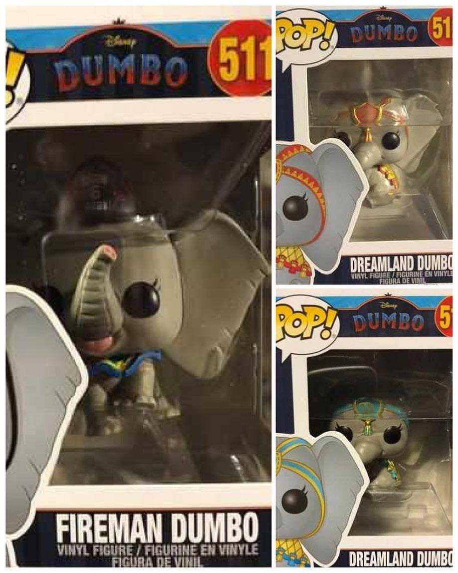 Дамбо: Fireman Dumbo, Dreamland Dumbo