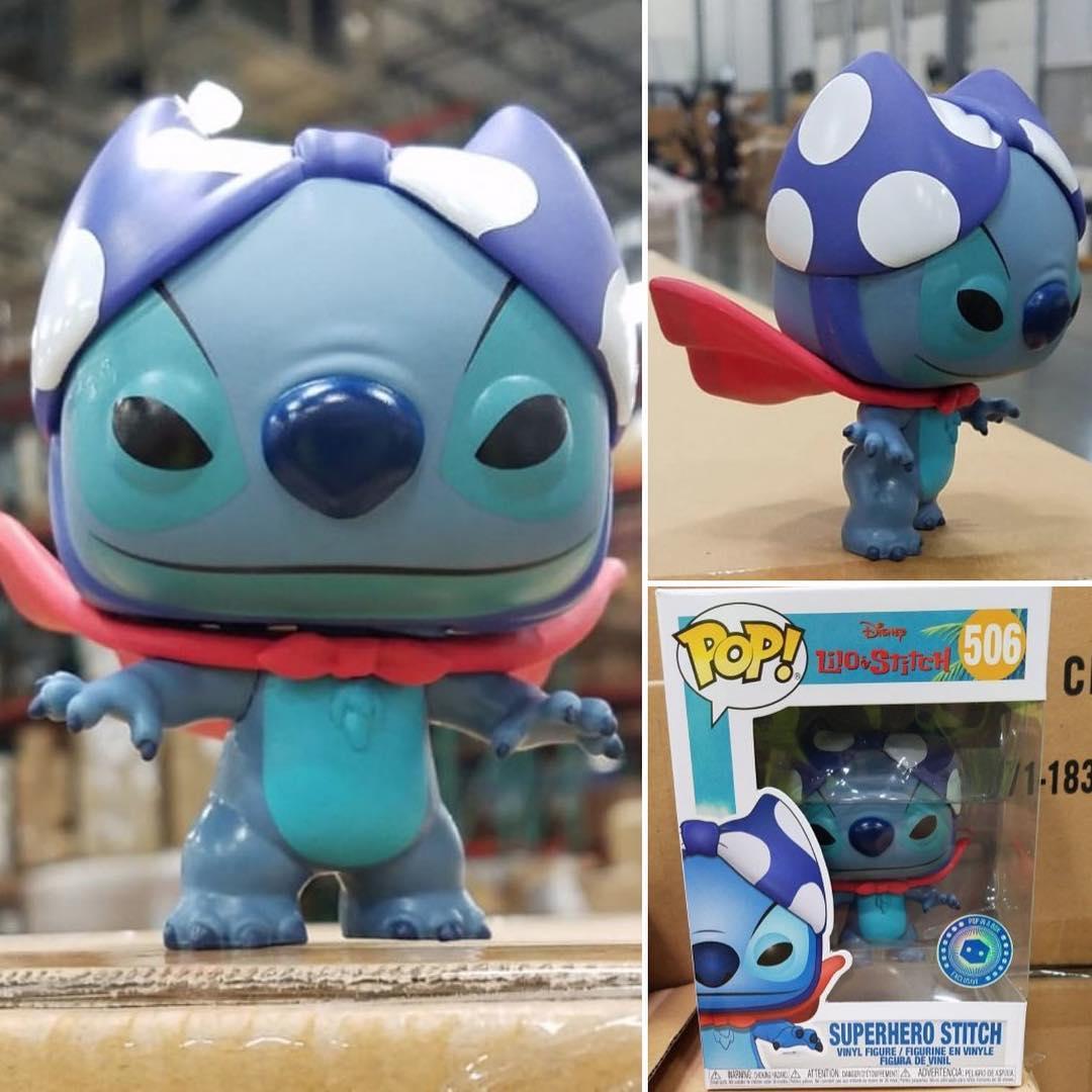 Стич супергерой (Superhero Stitch), эксклюзив для Pop in a Box