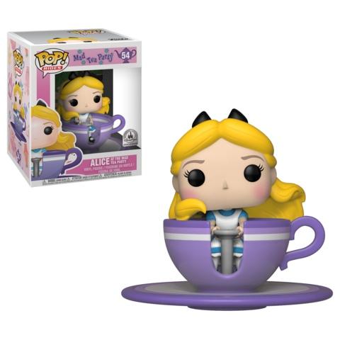 Alice at the Mad Tea Party Rides эксклюзив для Disney