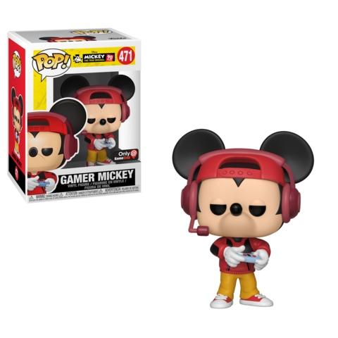 Gamer Mickey Red