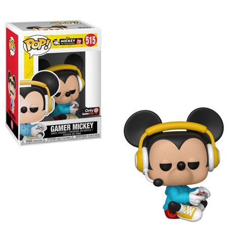 Gamer Mickey Yellow