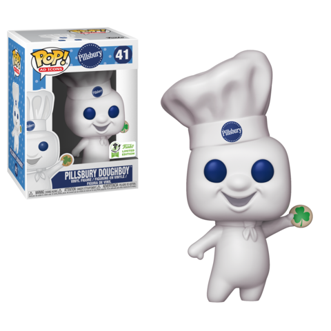Клецка Пилсбери (Pillsbury Doughboy with Shamrock) для Funko Shop