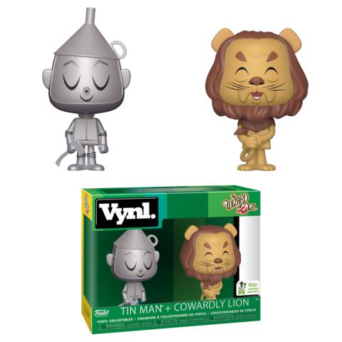 Железный Дровосек и Трусливый Лев из Волшебника страны Оз в стиле Vynl. Для Barnes and Noble