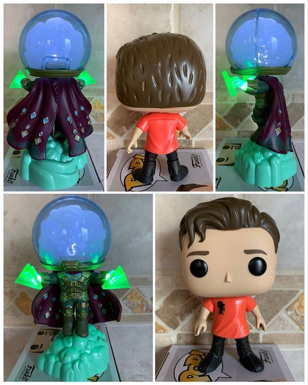 Box Collector Corps Funko Marvel Peter Parker and Mysterio