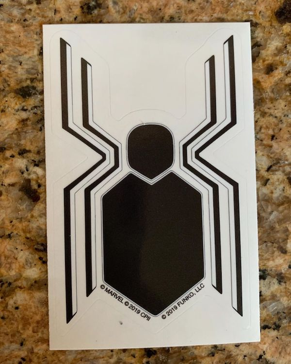 Box Collector Corps Funko Marvel Spider Man Far From Home Decal