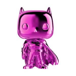 Фанко ПОП Бэтмен розовый хром DC comics