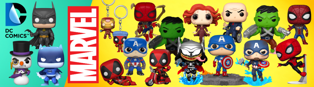 funko pop marvel and dc