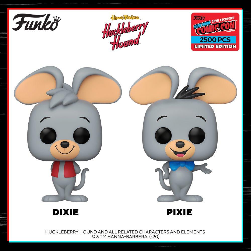 Набор из двух фигурок Фанко ПОП Дикси и Пикси из мультиков Hanna Barbera
