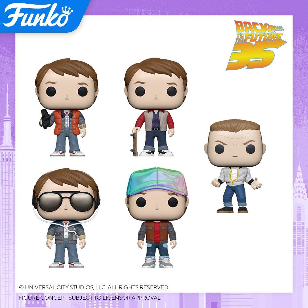 Toy Fair NY2020 Funko POP Back to the Future