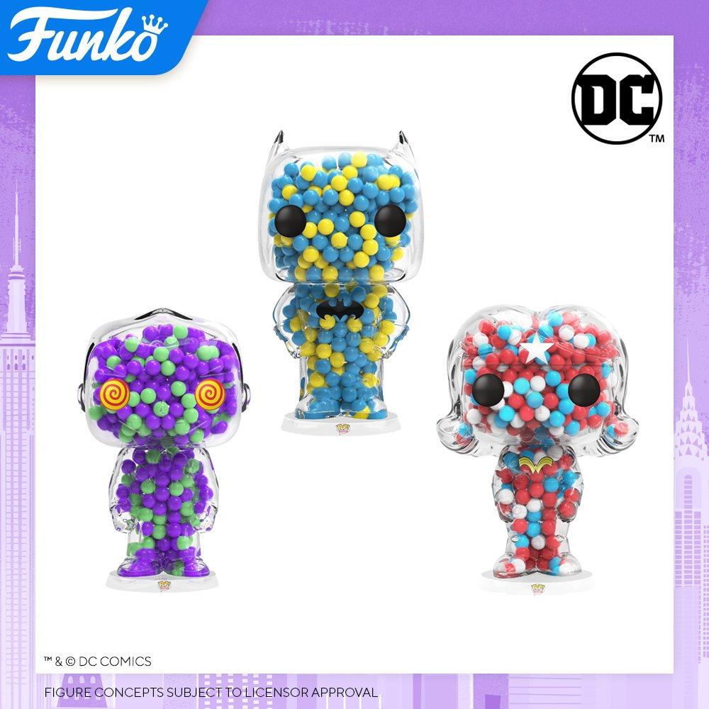 Toy Fair NY2020 Funko POP Candies DC Comics