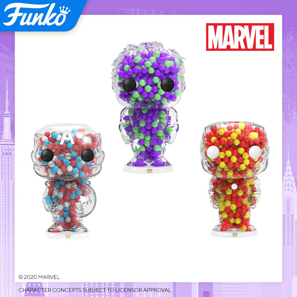 Toy Fair NY2020 Funko POP Candies Marvel