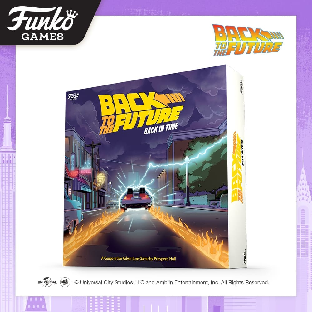 Toy Fair NY2020 Funko Games Back To The Future