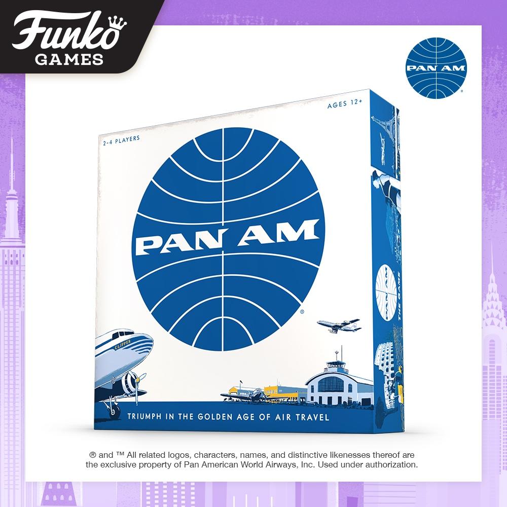 Toy Fair NY2020 Funko Games Pan Am