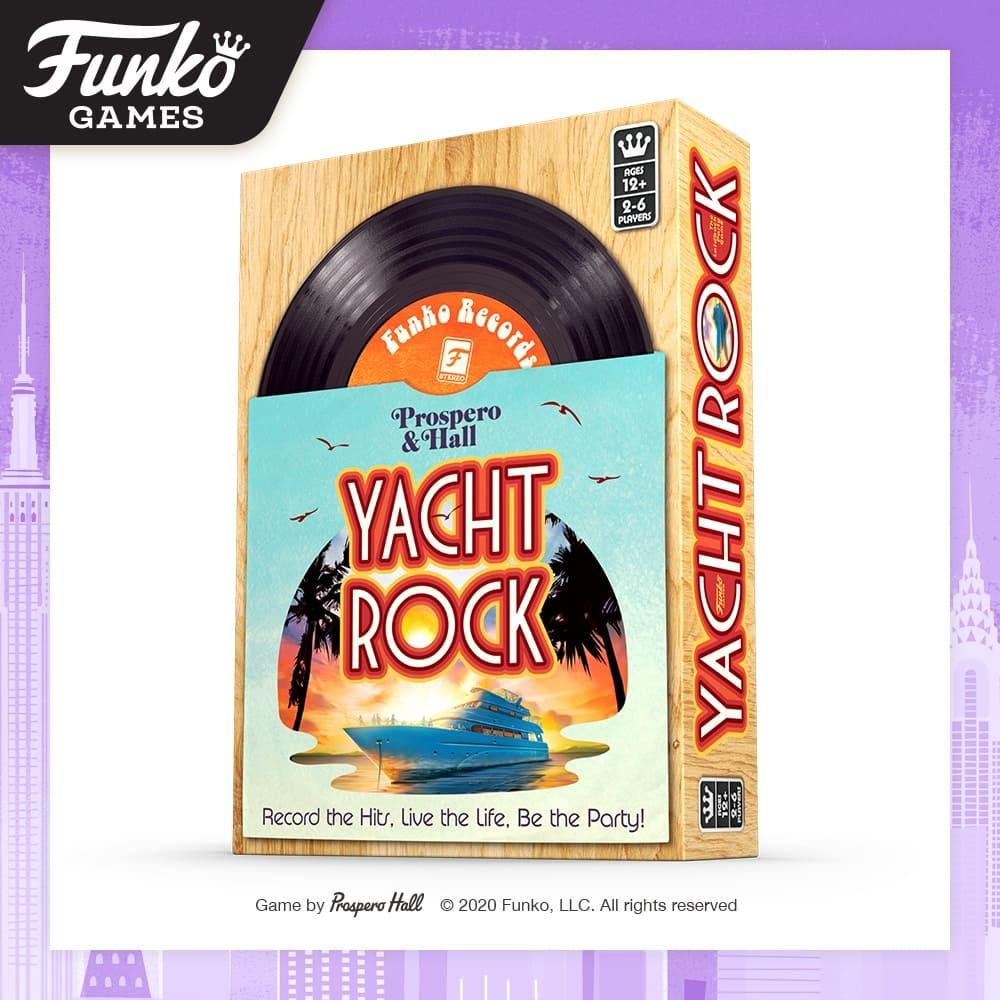 Toy Fair NY2020 Funko Games Yacht Rock