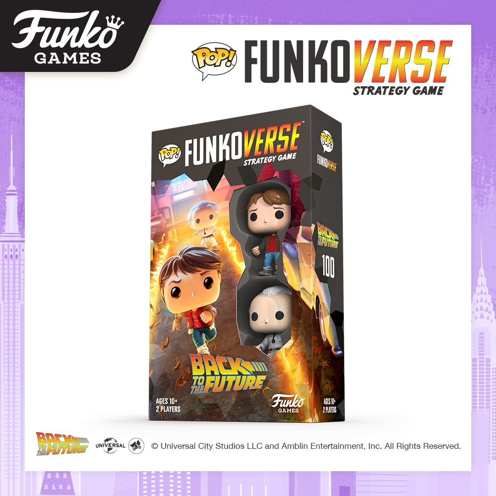 Toy Fair NY2020 Funko Verse Games Back To The Future