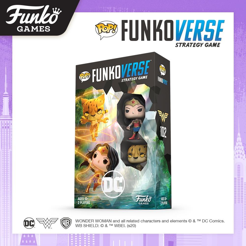 Toy Fair NY2020 Funko Verse Games DC Comics Wonder Woman