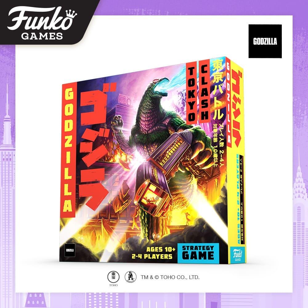 Toy Fair NY2020 Funko Games Godzilla