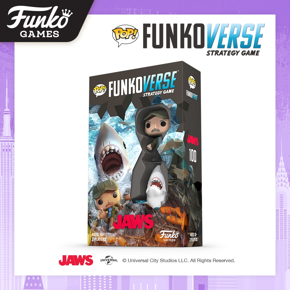 Toy Fair NY2020 Funko Verse Games Jaws