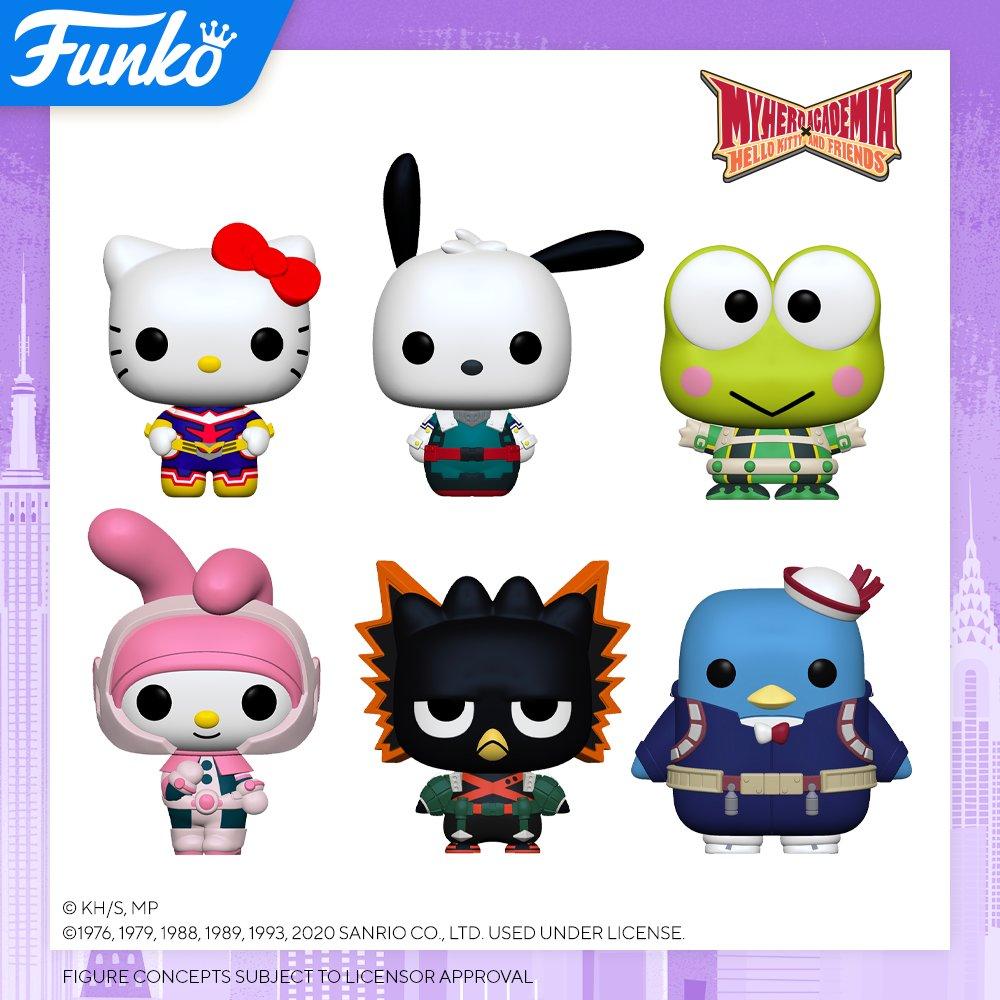 Toy Fair NY2020 Funko POP Hello Kitty x My Hero Academia