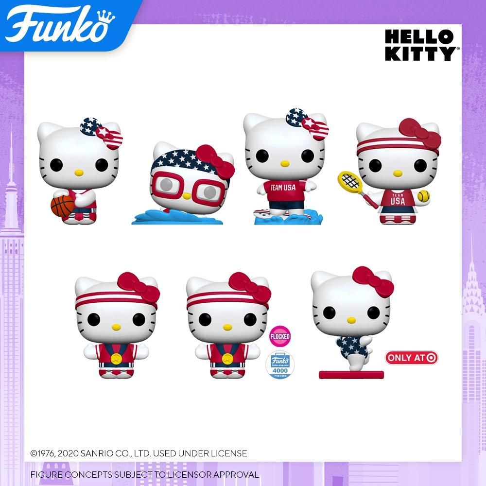 Toy Fair NY2020 Funko POP Hello Kitty x USA Team