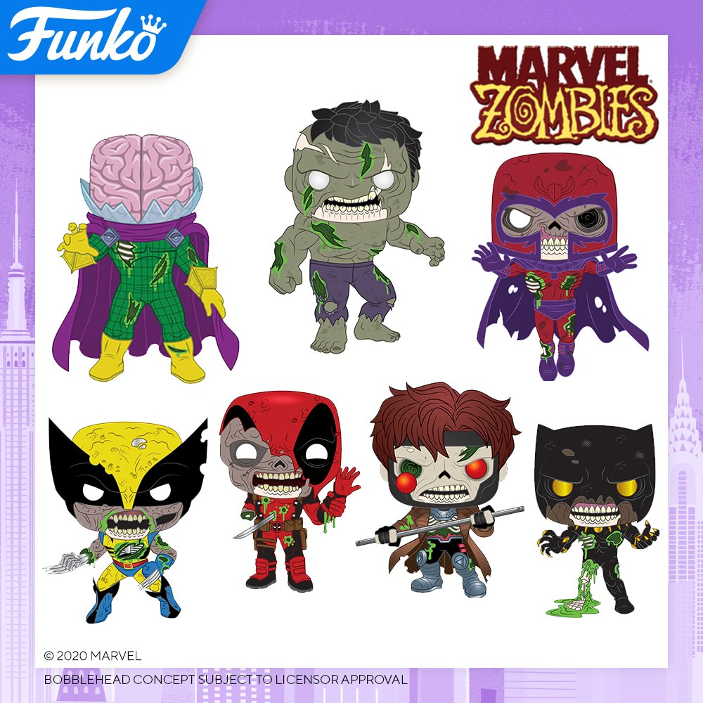 Toy Fair NY2020 Funko POP Marvel Zombies