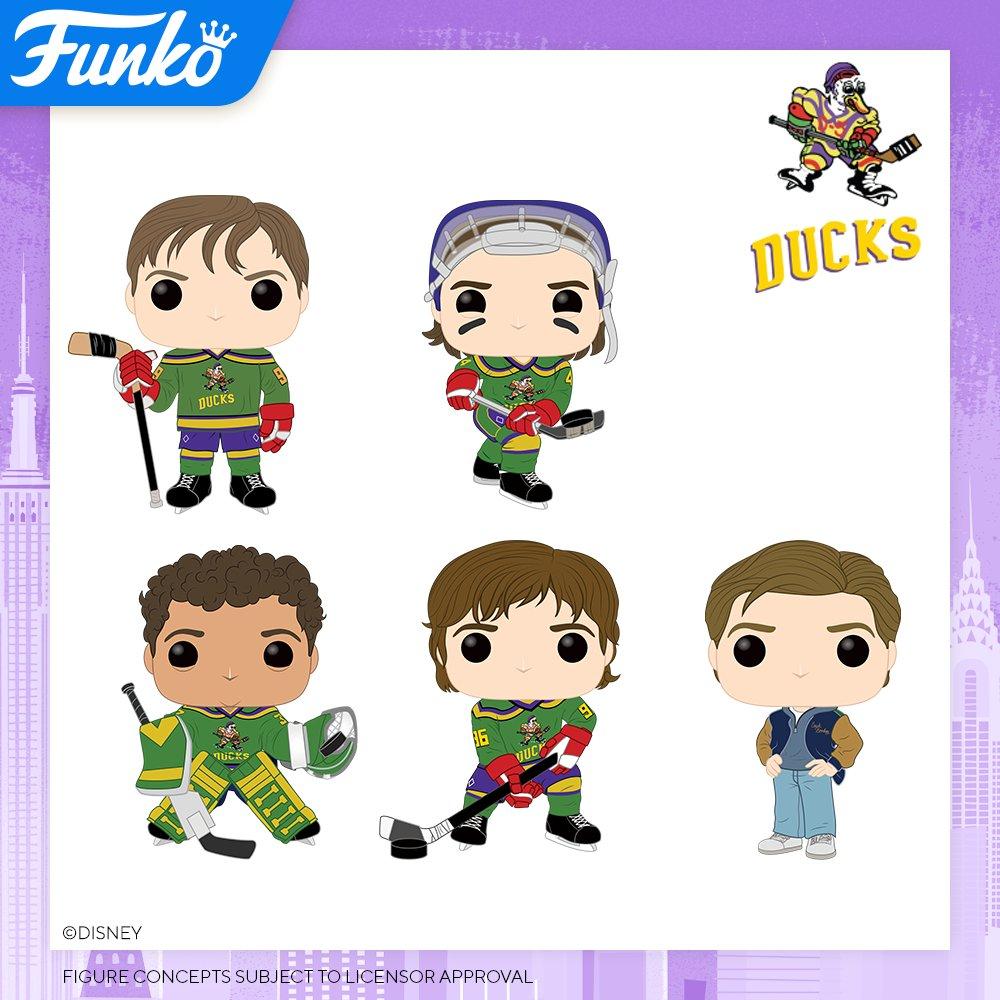 Toy Fair NY2020 Funko POP Mighty Ducks