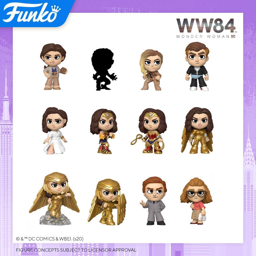 Toy Fair NY2020 Funko POP Wonder Woman 84 Mystery Minis