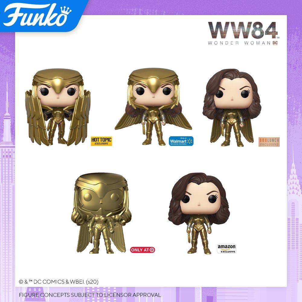 Toy Fair NY2020 Funko POP Wonder Woman 84 exclusives