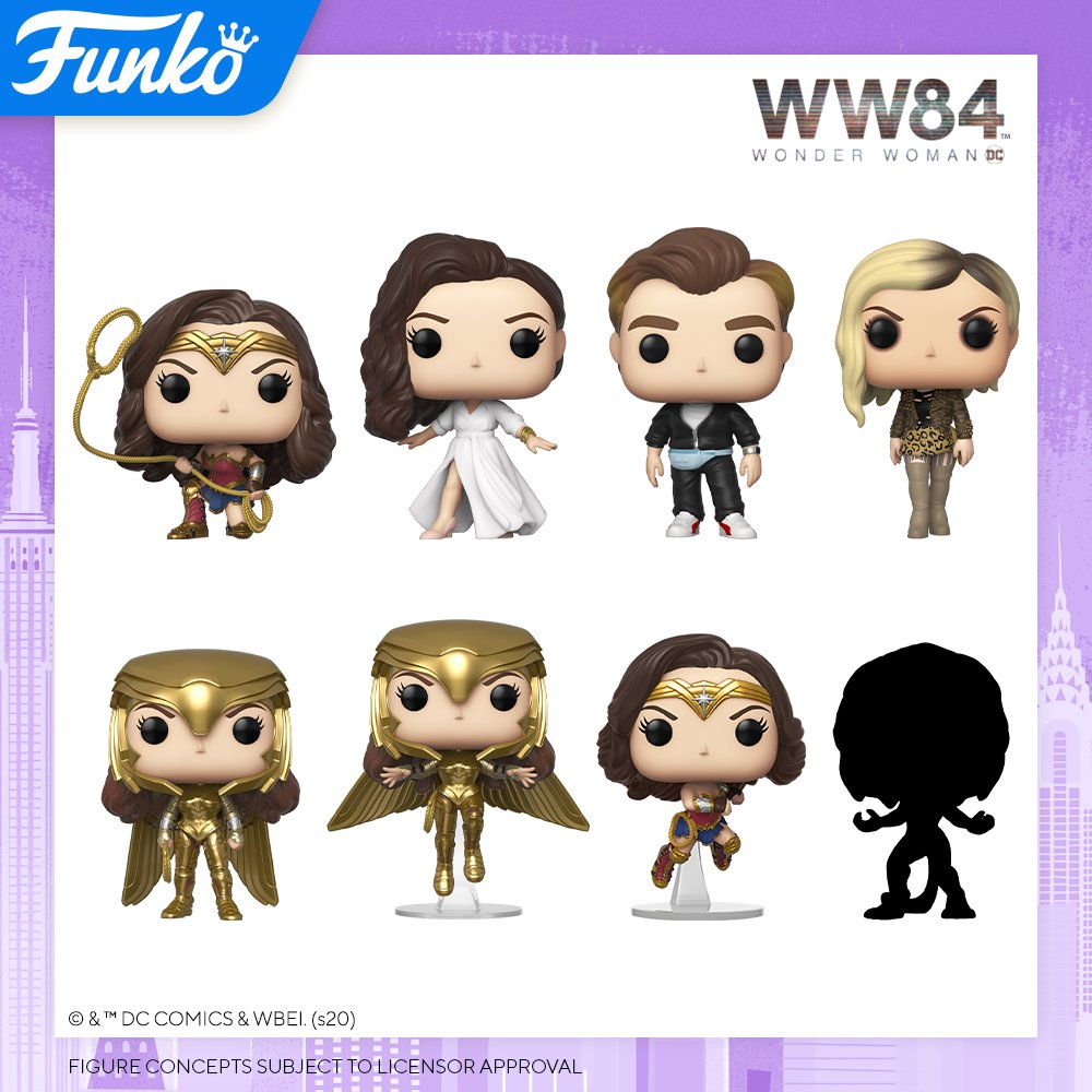 Toy Fair NY2020 Funko POP Wonder Woman 84