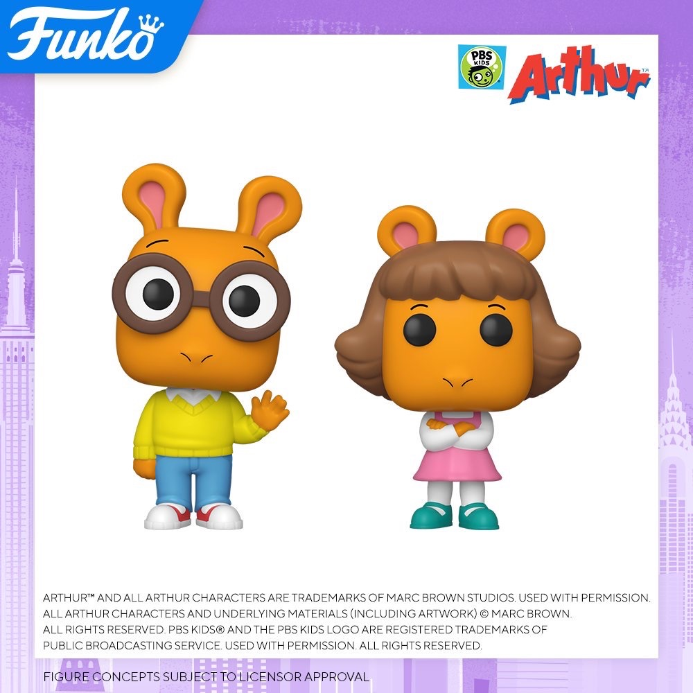 Toy Fair NY2020 Funko POP Arthur
