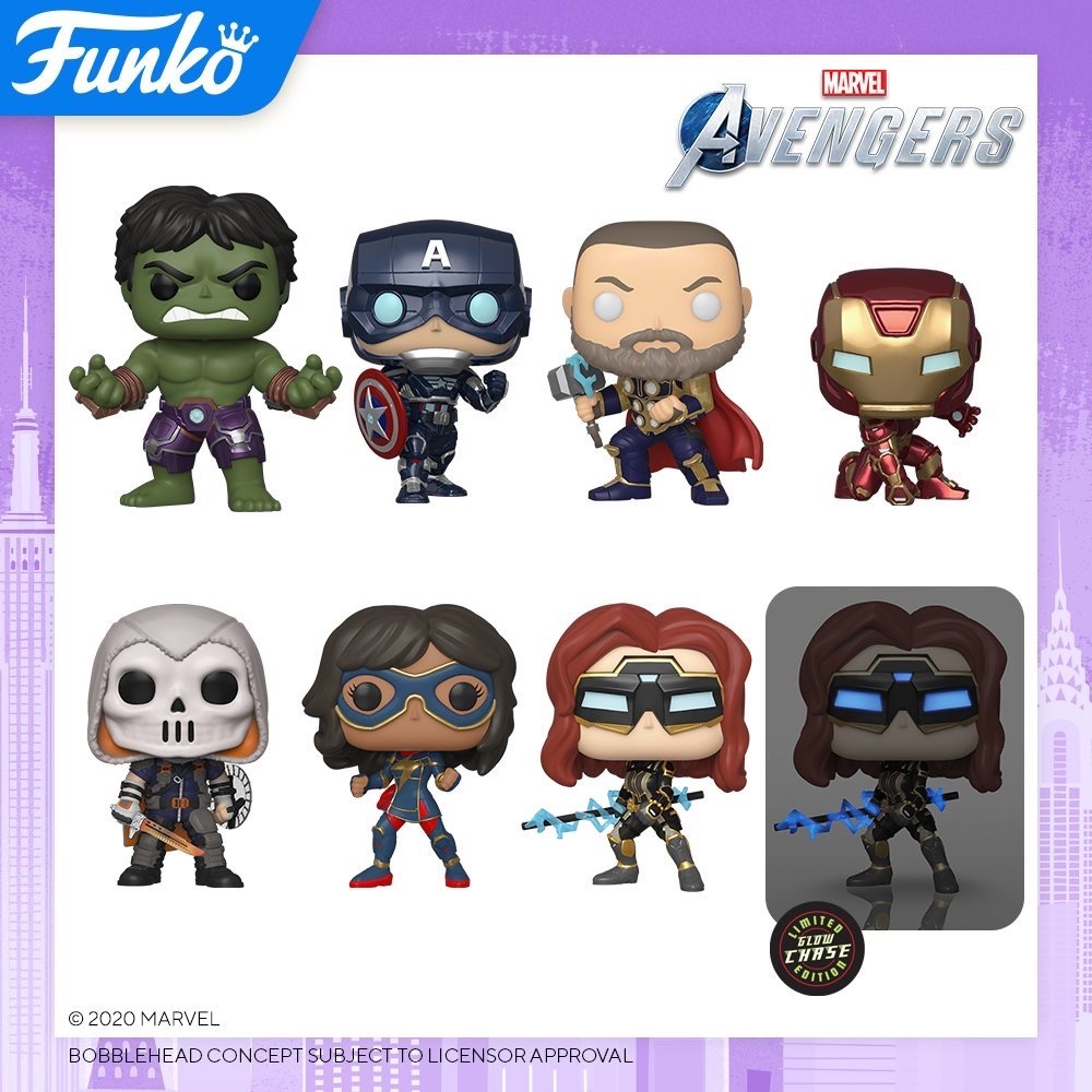 Toy Fair NY2020 Funko POP Avengers