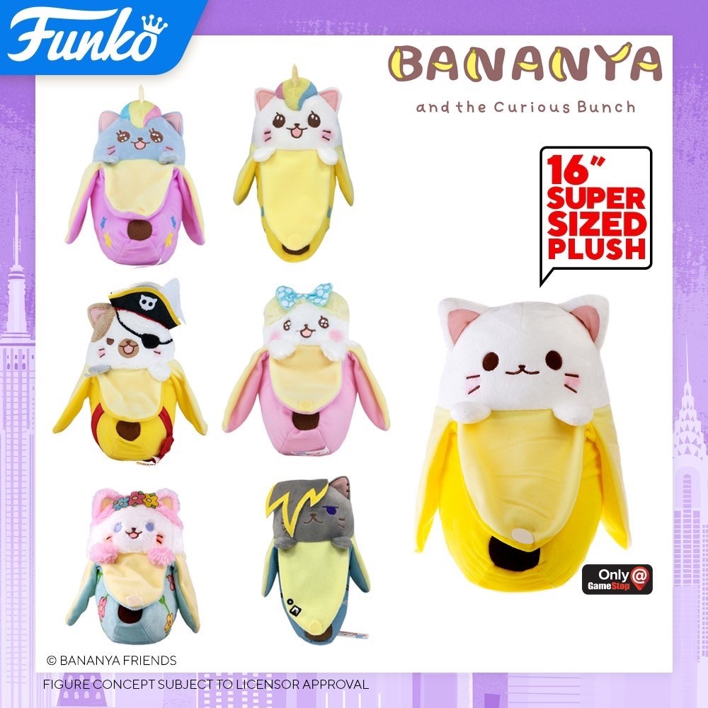 Toy Fair NY2020 Funko Plush Bananya