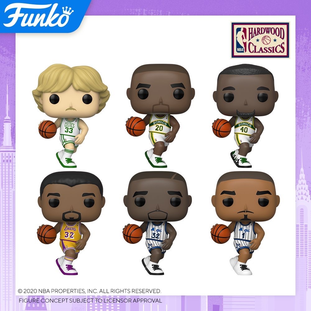 Toy Fair NY2020 Funko POP NBA Legends Hardwood Classics