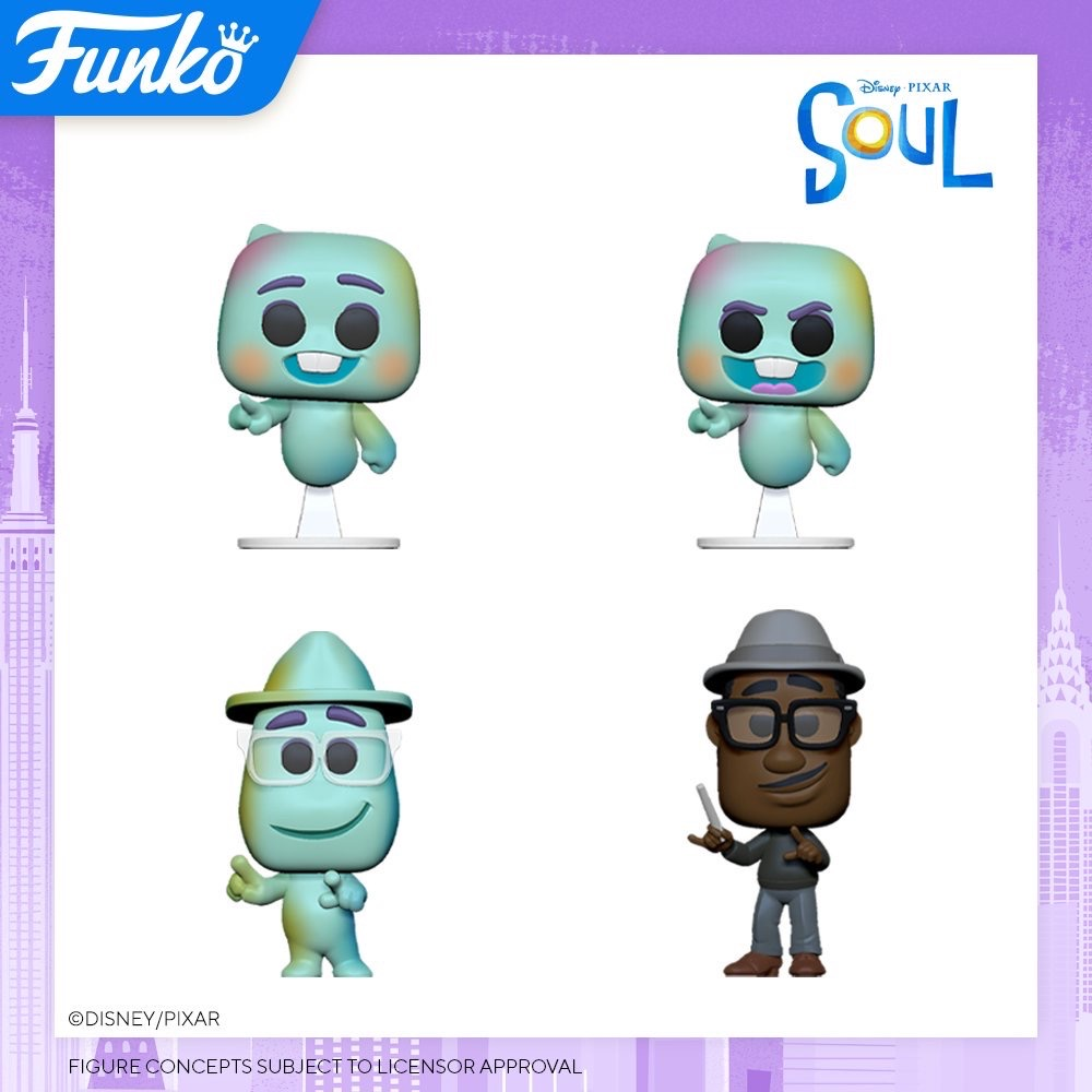 Toy Fair NY2020 Funko POP Disney Pixar Soul