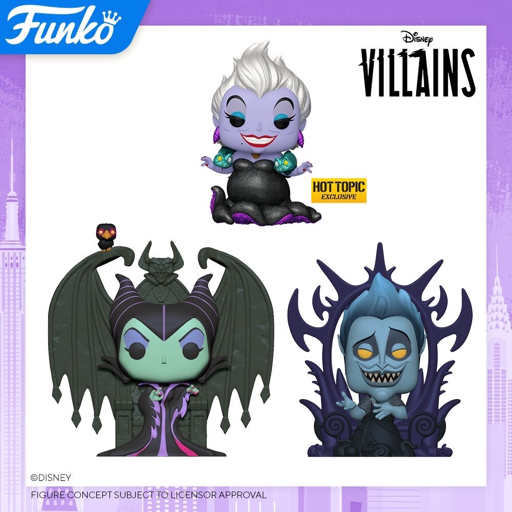 Toy Fair NY2020 Funko POP Disney Villains