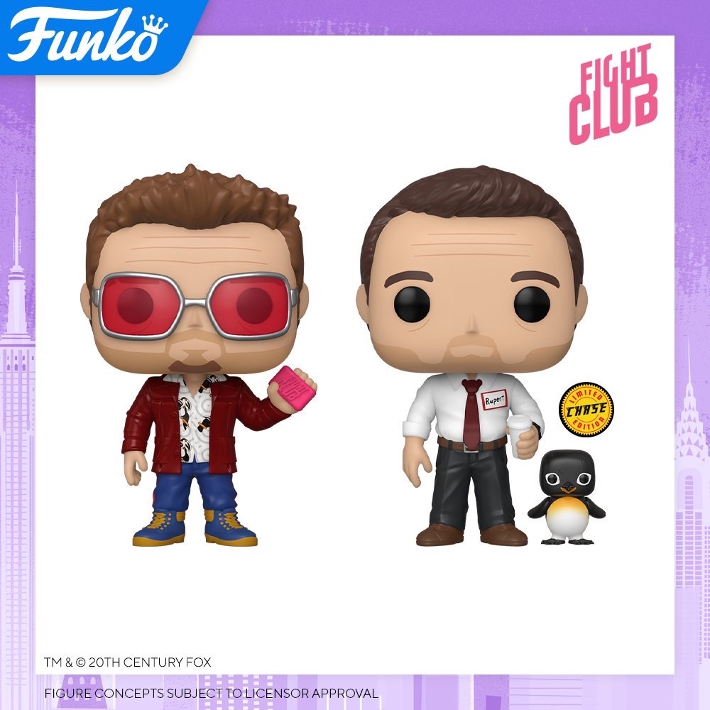 Toy Fair NY2020 Funko POP Fight Club