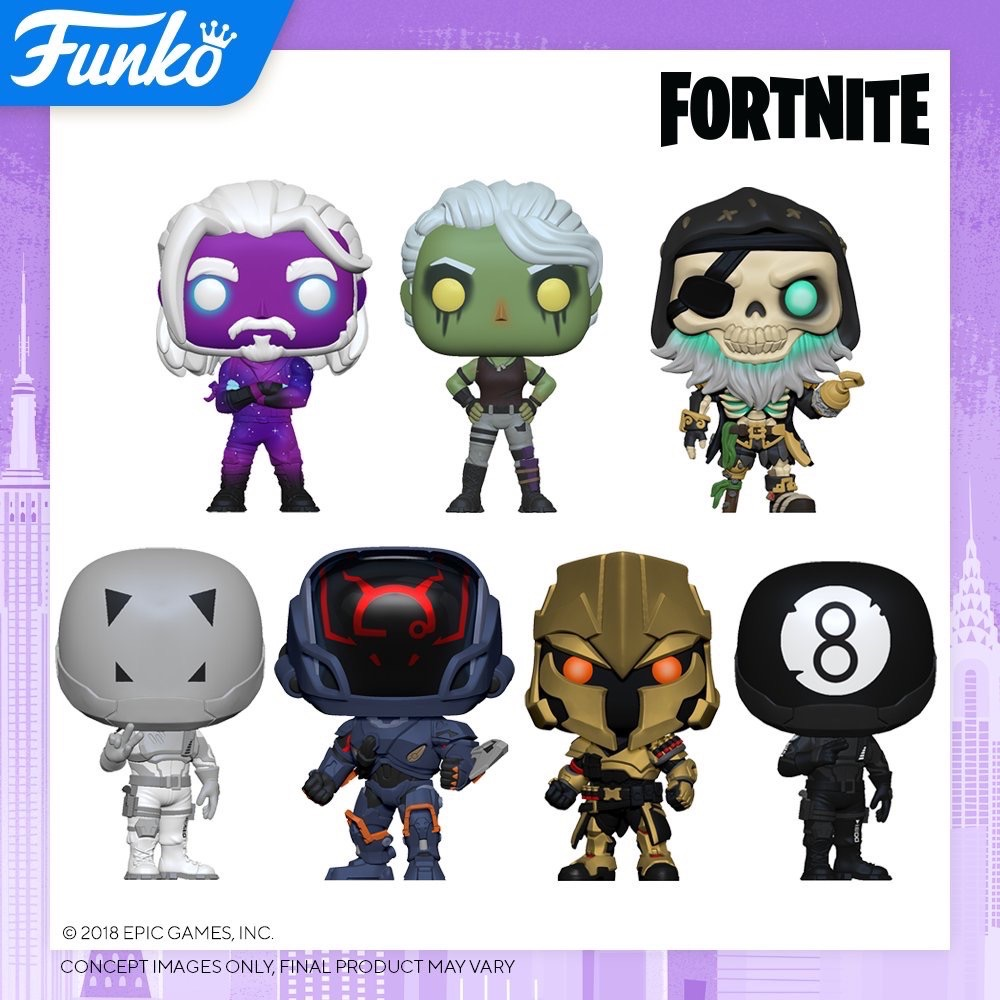 Toy Fair NY2020 Funko POP Fortnite