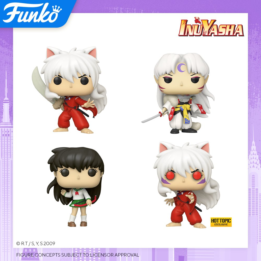 Toy Fair NY2020 Funko POP InuYasha