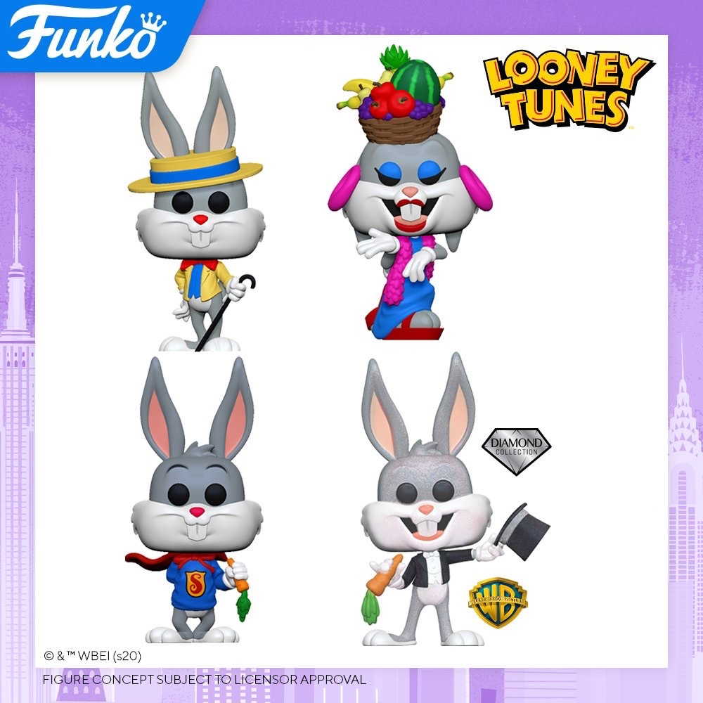 Toy Fair NY2020 Funko POP Looney Tunes