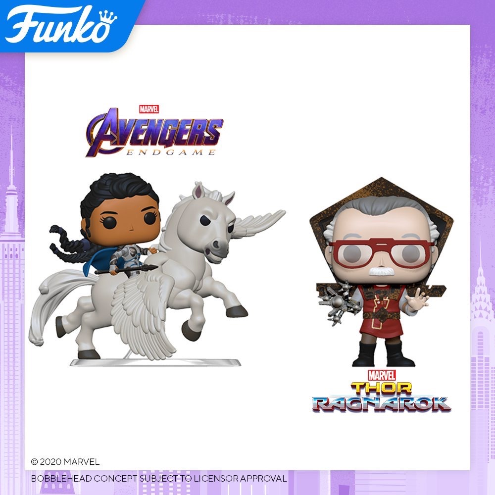 Toy Fair NY2020 Funko POP Marvel