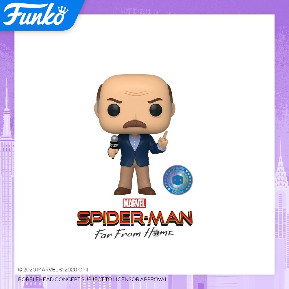 Toy Fair NY2020 Funko POP Marvel Spider-Man Far from Home