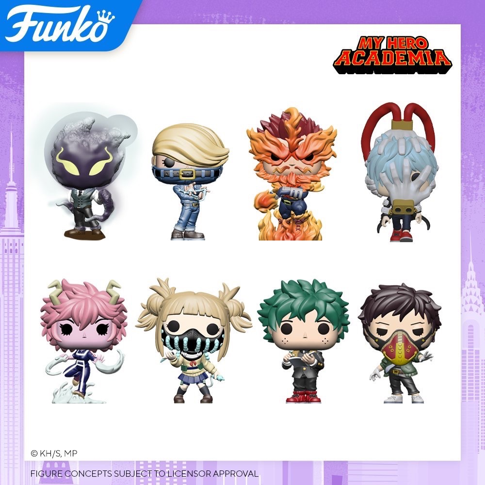 Toy Fair NY2020 Funko POP My Hero Academia